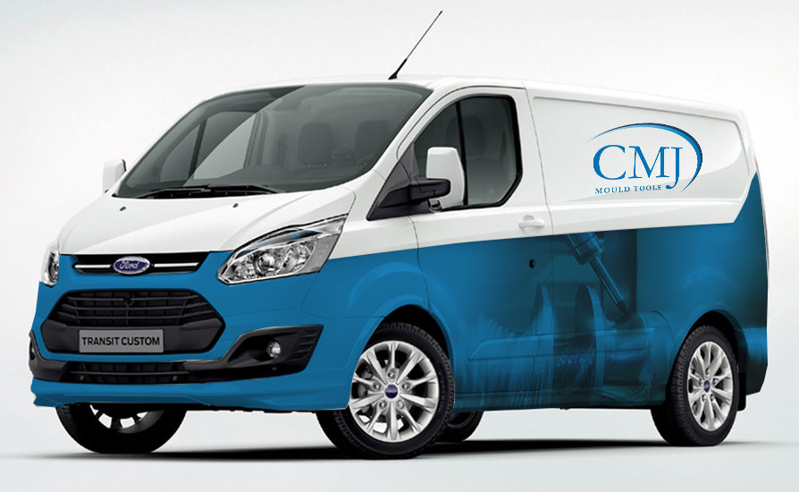 CMJ Mould Tools Essex Vehicle Graphics
