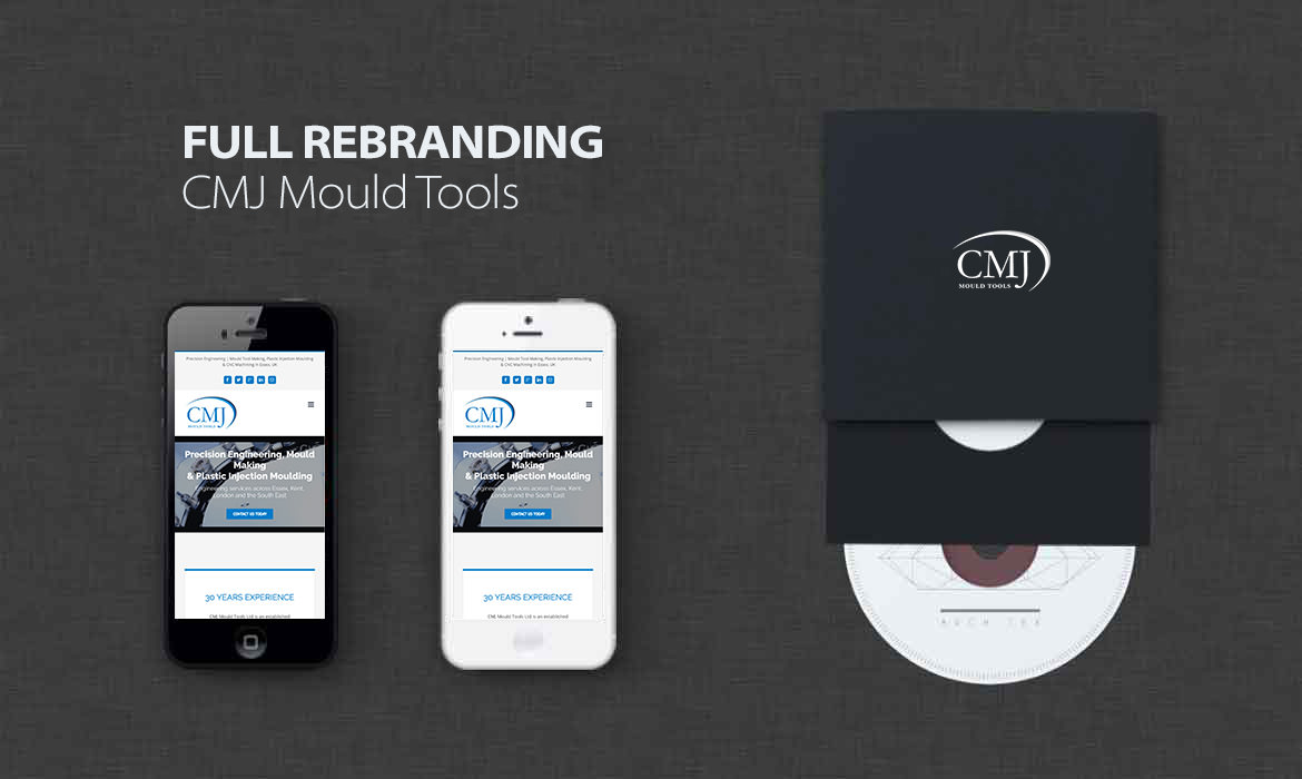 CMJ Mould Tools Engineering - Design Agency Essex