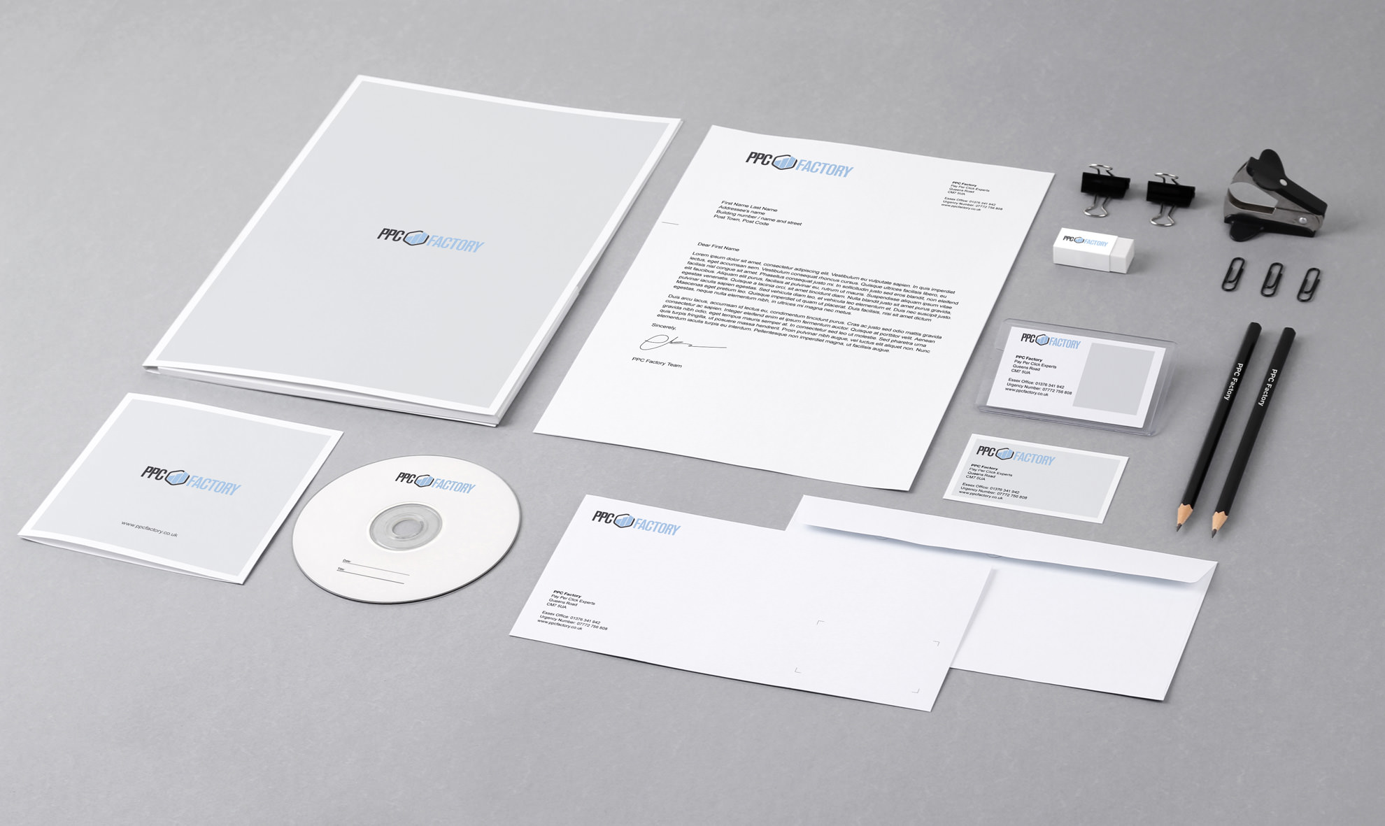 Corporate Stationery Design Creative Pixel Agency